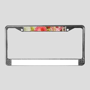happy easter girl License Plate Frame