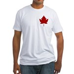 Canada Anthem Souvenir Fitted T-Shirt