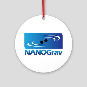 NANOGrav Round Ornament