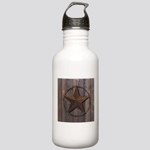 western barnwood texas Stainless Water Bottle 1.0L