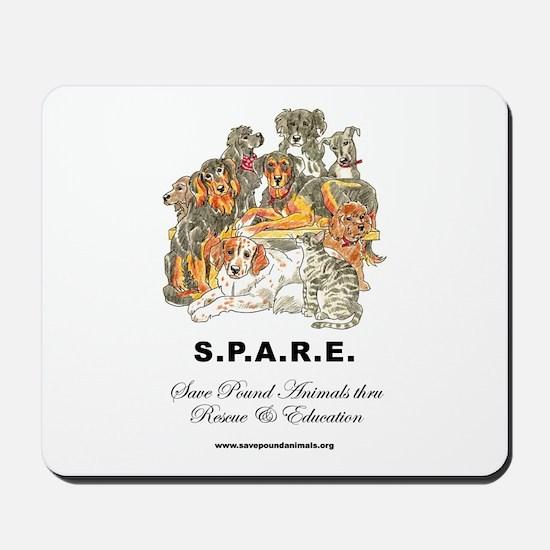 SPARE Mousepad