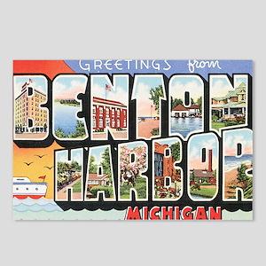 Benton Harbor Postcard Postcards (Package of 8)