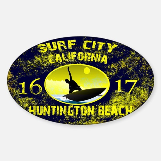 SURF CITY CALIFORNIA Decal