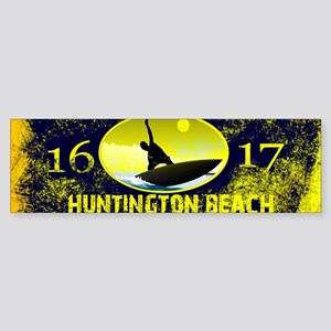 SURF CITY CALIFORNIA Bumper Sticker