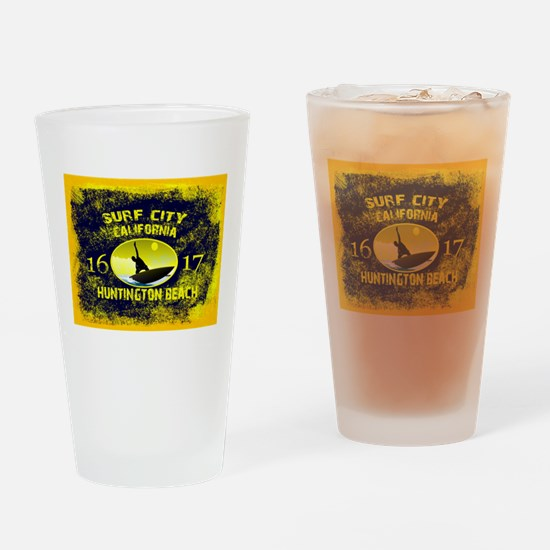 SURF CITY CALIFORNIA Drinking Glass