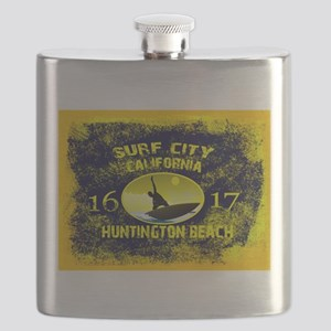 SURF CITY CALIFORNIA Flask