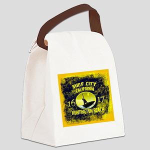 SURF CITY CALIFORNIA Canvas Lunch Bag