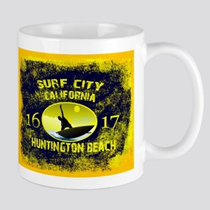 SURF CITY CALIFORNIA Mugs