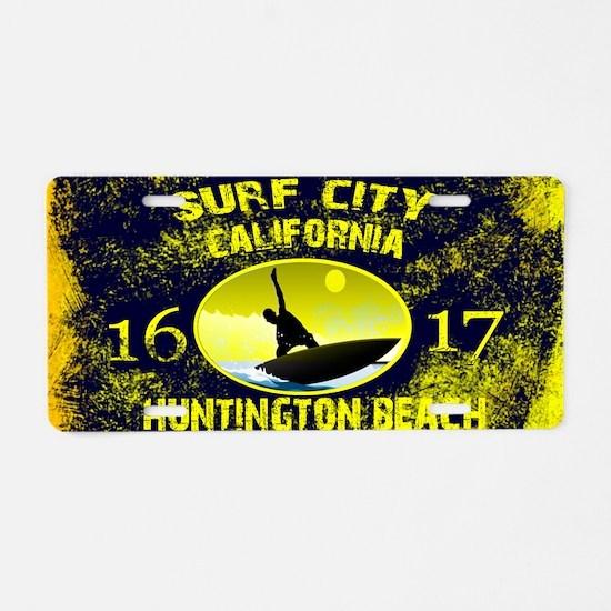 SURF CITY CALIFORNIA Aluminum License Plate