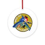USS Perch (APSS 313) Ornament (Round)