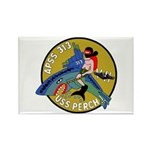 USS Perch (APSS 313) Rectangle Magnet