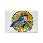 USS Perch (APSS 313) Rectangle Magnet (10 pack)