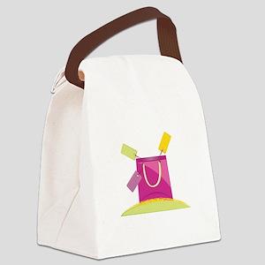 Shopping Bag Canvas Lunch Bag