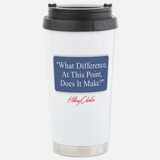 What Difference Stainless Steel Travel Mug