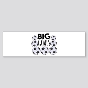 Big Goals Bumper Sticker
