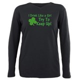 I love st patricks day Plus Size Long Sleeves
