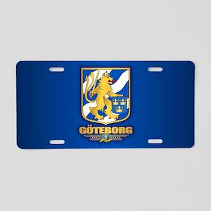 Goteborg Aluminum License Plate