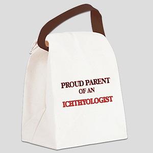 Proud Parent of a Ichthyologist Canvas Lunch Bag