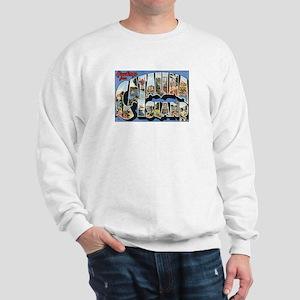 Catalina Island Postcard Sweatshirt