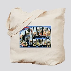 Catalina Island Postcard Tote Bag