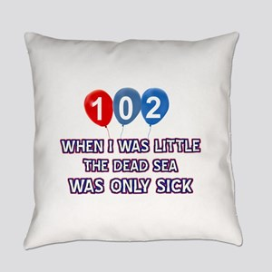 102 year old dead sea designs Everyday Pillow