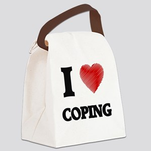 I love Coping Canvas Lunch Bag
