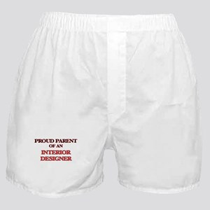 Proud Parent of a Interior Designer Boxer Shorts