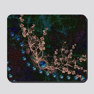 Flowers with pearl necklace Mousepad