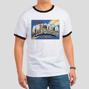 Chicago Postcard Ringer T