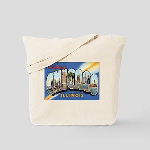 Chicago Postcard Tote Bag