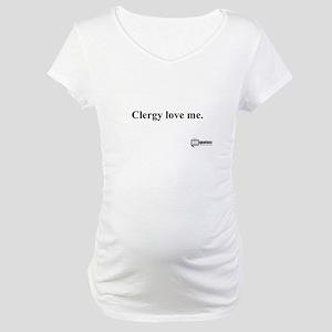 Clergy Maternity T-Shirt