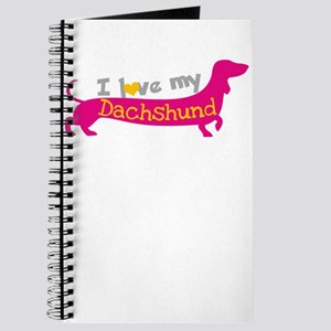 i love my dachshund Journal