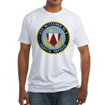 USS MITSCHER Fitted T-Shirt