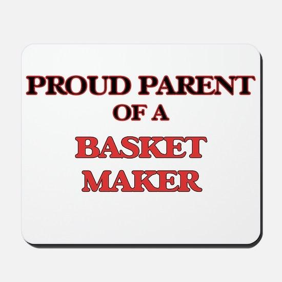 Proud Parent of a Basket Maker Mousepad