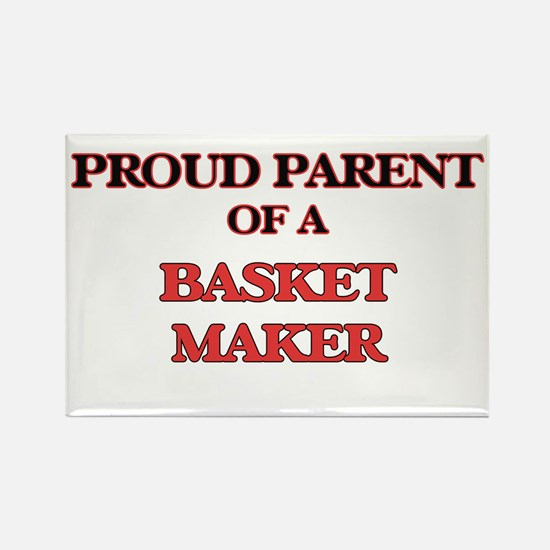 Proud Parent of a Basket Maker Magnets