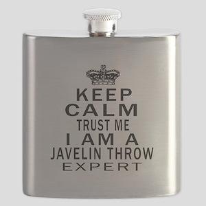 Javelin Throw Expert Designs Flask