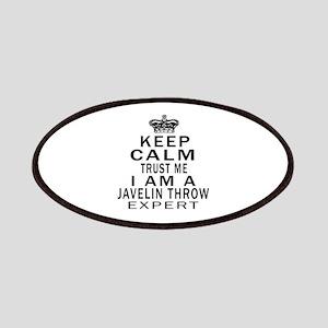 Javelin Throw Expert Designs Patch