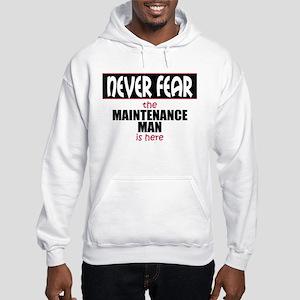 Maintenance Man Hooded Sweatshirt