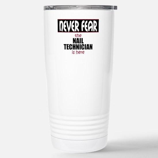 Nail Technician Stainless Steel Travel Mug