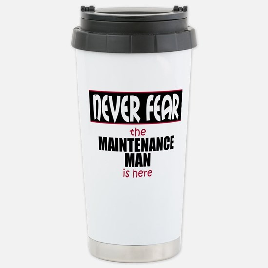 Maintenance Man Stainless Steel Travel Mug