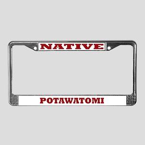 Potawatomi Native License Plate Frame
