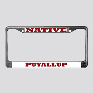 Puyallup Native License Plate Frame