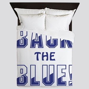 BACK THE BLUE! Queen Duvet
