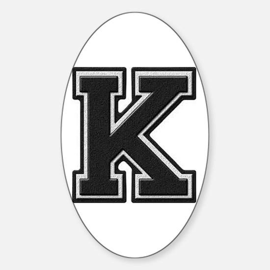 Unique Lettermen Sticker (Oval)