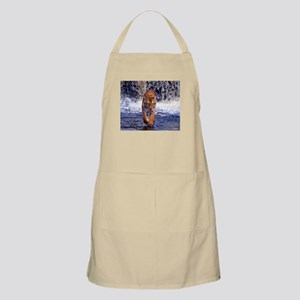Tiger In Waterfall Apron