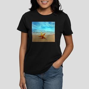 Starfish On The Beach T-Shirt