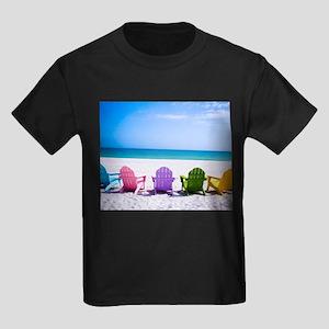 Lounge Chairs On Beach T-Shirt