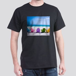 Lounge Chairs On Beach T-Shirt