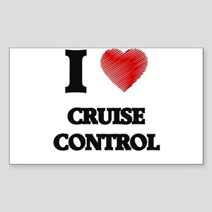 I love Cruise Control Sticker
