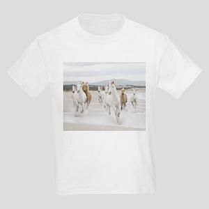 Horses Running On The Beach T-Shirt